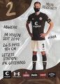 Sebastian Ohlsson; Rückseite Autogrammkarte: Saison 2020/21 (2. Bundesliga)