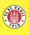Sticker 286: FC St. Pauli Wappen; Fußball Bundesliga (Das Sticker-Album zur Endphase der Saison 97/98); Panini Bilderdienst, Nettetal, Kaldenkirchen