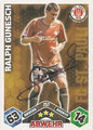 Trading Card 257 mit Orginalunterschrift: Match Attax Traiding Card Game 2010/2011; Topps