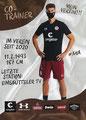 Loïc Favé; Rückseite Autogrammkarte: Saison 20/21 (2. Bundesliga)