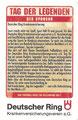 Tag der Legenden 2011: Legenden-Quartett Nr. 5, Anmerkung:  Hamburg VS Deutschland (Showdown am Millerntor)