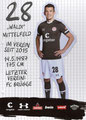 Waldemar Sobota; Rückseite Autogrammkarte: Saison 2019/20 (2. Bundesliga)