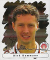 Sticker 160 mit Orginalunterschrift: Panini Junior Sticker (Die Endphase der Saison 95/96); Panini Bilderdienst, Nettetal, Kaldenkirchen