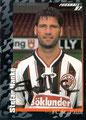 Sticker 380 mit Orginalunterschrift: Fußball' 97; Panini Bilderdienst, Nettetal, Kaldenkirchen