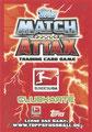 Trading Card 432: Rückseite Trading Card; Match Attax Trading Card Game Bundesliga 2013/2014; Topps