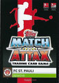 Trading Card 706: Rückseite Trading Card; Topps Match Attax Extra 2019/2020; Topps