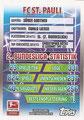 Trading Card 427: Clubkarte Rückseite; Topps Match Attax 2015/2016; Topps