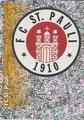 Sticker 432: FC St. Pauli Wappen; Fußball' 96; Panini Bilderdienst, Unterschleißheim