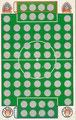 Rubbelkarte ohne Nummer: Bayer Urdinger 05 - FC St. Pauli; Fußball-Sammel-Power Serie 1; Sun Edition, Eching