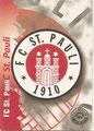 Trading Card 69: FC St. Pauli Wappen; Premium Cards Edition 96/97 (Die besten Spieler der Fußball Bundesliga); Panini Bilderdienst, Nettetal, Kaldenkirchen