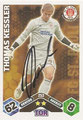 Trading Card 253 mit Orginalunterschrift: Match Attax Traiding Card Game 2010/2011; Topps