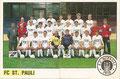 Sticker 93 links: Mannschaftsbild, Sticker 94 rechts: Mannschaftsbild; Panini Bilderdienst, Tütenbilder, Unterschleißheim