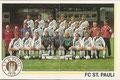 Sticker 242: Mannschaftsbild (links), Sticker 243: Mannschaftsbild (rechts); Fußball 91; Panini Bilderdienst, Unterschleißheim