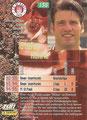 Trading Card 135: Rückseite Trading Card; Bundesliga Cards '96 ran Sat 1 Fußball; Panini Bilderdienst, Nettetal, Kaldenkirchen