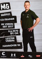 Markus Gellhaus; Rückseite Autogrammkarte: Saison 2018/19 (2. Bundesliga)