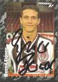 Sticker 379 mit Orginalunterschrift: Fußball' 97; Panini Bilderdienst, Nettetal, Kaldenkirchen