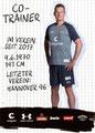 Markus Gellhaus; Rückseite Autogrammkarte: Saison 2019/20 (2. Bundesliga)