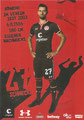 Jan- Philipp Kalla; Rückseite Autogrammkarte: Saison 2016/17 (2. Bundesliga)