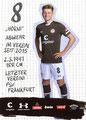 Marc Hornschuh; Rückseite Autogrammkarte: Saison 2019/20 (2. Bundesliga)