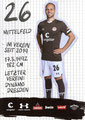 Rico Benatelli; Rückseite Autogrammkarte: Saison 2019/20 (2. Bundesliga)