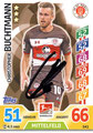 Trading Card 541 mit Orginalunterschrift: Christopher Buchtmann; Topps Match Attax Extra 2017/2018; Topps