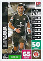 Trading Card 575: Leart Paqarada; Topps Match Attax Extra 2020/2021; Topps