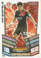 Trading Card 434: Fin Bartels; Match Attax Trading Card Game Bundesliga 2013/2014; Topps