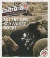 Sticker 104: Es lebe der Schwarze Bock; Der Jahr 100 Verein; St. Pauli Sammeln! Panini Bilderdienst, Stuttgart