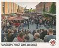 Sticker 195: Saisonabschluss 2009 am Knust; Fankneipen; St. Pauli Sammeln! Panini Bilderdienst, Stuttgart