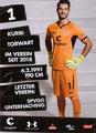 Korbinian Müller; Rückseite Autogrammkarte: Saison 2018/19 (2. Bundesliga)