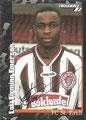 Sticker 390 mit Orginalunterschrift: Fußball' 97; Panini Bilderdienst, Nettetal, Kaldenkirchen