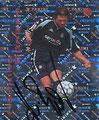 Glitzer Sticker 171 mit Orginalunterschrift: Henning Bürger; Fußball Bundesliga 2002; Panini Bilderdienst, Nettetal, Kaldenkirchen