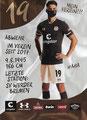 Luca Zander; Rückseite Autogrammkarte: Saison 2020/21 (2. Bundesliga)