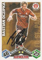 Trading Cards 259 mit Orginalunterschrift: Match Attax Traiding Card Game 2010/2011; Topps