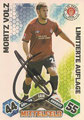 Trading Card LA18 mit Orginalunterschrift: Match Attax Traiding Card Game 2010/2011; Topps