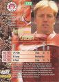 Trading Card 133: Rückseite Trading Card; Bundesliga Cards '96 ran Sat 1 Fußball; Panini Bilderdienst, Nettetal, Kaldenkirchen