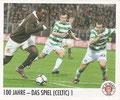 Sticker 102: 100 Jahre - Das Spiel (Celtic) 1; Der Jahr 100 Verein; St. Pauli Sammeln! Panini Bilderdienst, Stuttgart