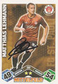 Trading Cards 261 mit Orginalunterschrift: Match Attax Traiding Card Game 2010/2011; Topps
