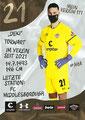 Dejan Stojanovic; Rückseite Autogrammkarte: Saison 2020/21 (2. Bundesliga) Variante 2: Rückseite: Schriftzug oben rechts: Mein Verein 111