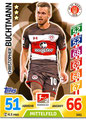 Trading Card 541: Christopher Buchtmann; Topps Match Attax Extra 2017/2018; Topps