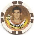 Chipz ohne Nummer: Carlos Zambrano; Bundesliga Chipz 2010/2011; Topps