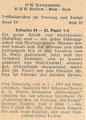 Sammelbild 92: Rückseite Sammelbild; Vom Deutschen Sport: Fußballgrößen in Training und Kampf, Band IV zweiter Teil (Bild: 65 - 128); Schuma, Schumann, OK Kaugummi, Pinneberg und Hamburg Altona