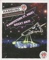 Sticker 101: Kampfstern St. Pauli Dockt an!!! Der Jahr 100 Verein; St. Pauli Sammeln! Panini Bilderdienst, Stuttgart