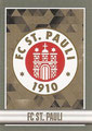 Sticker 436: FC St. Pauli Wappen; Fußball Bundesliga (Offizielle Sticker-Sammlung 2015/2016); Topps
