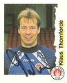 Sticker 189 mit Orginalunterschrift: Fußball Bundesliga (Die Endphase der Saison 96/97); Panini Bilderdienst, Nettetal, Kaldenkirchen