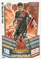 Trading Card 434 mit Orginalunterschrift: Fin Bartels; Match Attax Trading Card Game Bundesliga 2013/2014; Topps