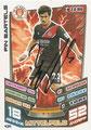 Trading Card 434 mit Orginalunterschrift: Fin Bartels; Match Attax Trading Card Game Bundesliga 2013/2014; Topps