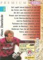 Trading Card 6: Rückseite Trading Card; Panini Premium Cards 95/96; Panini Bilderdienst, Nettetal, Kaldenkirchen