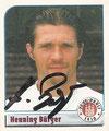 Sticker 181 mit Orginalunterschrift: Fußball Bundesliga 2002; Panini Bilderdienst, Nettetal, Kaldenkirchen