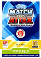 Trading Card 541: Rückseite Trading Card; Topps Match Attax Extra 2017/2018; Topps